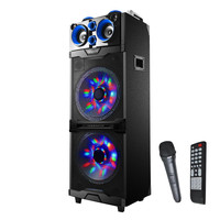"2 x 12"" Bluetooth® Professional DJ Speaker with Flashing Lights"