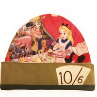 Alice in Wonderland Beanie | Mad Hatter Tea Party Hat | Disney