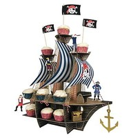 Ahoy There Pirate Ship Centrepiece