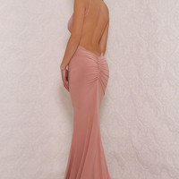 Chile Gown Blush Pink