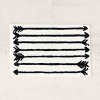 4040 Locust Arrow Bath Mat - Urban Outfitters
