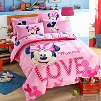 Lovely kids Minnie Duvet Bedding Set