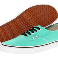 Vans Authentic™ Biscay Green/True White - Zappos.com Free Shipping BOTH Ways
