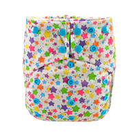 All In Two Cloth Diaper,Smily Stars
