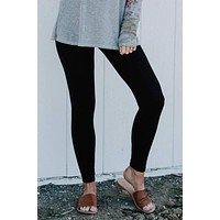 On The Go Leggings - Black