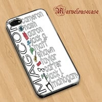 The magcon Boys quotes custom case for all phone case