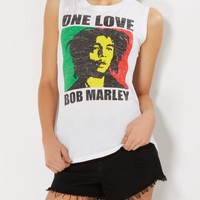 One Love Bob Marley Muscle Tank | Graphic Tees | rue21