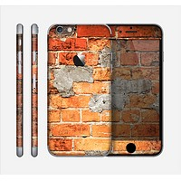 The Vibrant Brick Wall Skin for the Apple iPhone 6