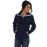 The Blakely Pullover in Navy by Lauren James