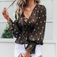 New national shirt loose fashion short jacket totem holiday style