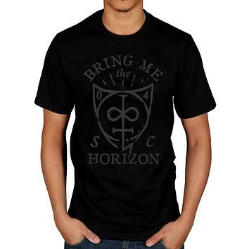 Official Bring Me The Horizon Hand Drawn T Shirt Suicide Season Sempiternal(1)|T-Shirts