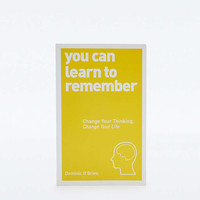 You Can Learn to Remember Book - Urban Outfitters