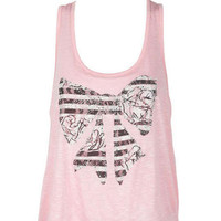 Lace Back Bow Tank