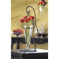 Cone-shaped Tabletop Hanging Vase