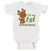 My First Christmas 2016 Gerber Onesuit ® Christmas Gift