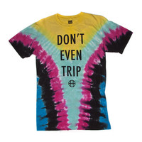 HUF - DON'T EVEN TRIP TEE // YELLOW
