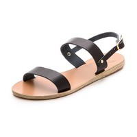 Ancient Greek Sandals Clio Two Band Sandals