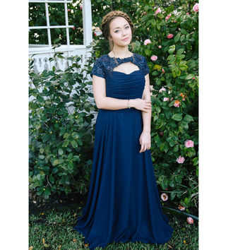 Long Sweetheart Neckline Evening Dresses Prom Gowns with Jacket pst0052