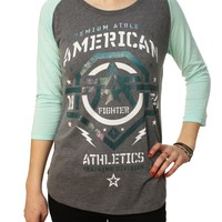 American Fighter Women's New Mexico 3/4 Sleeve Hoodie