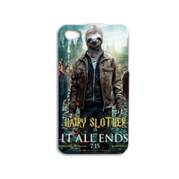 Harry Potter Phone Case Funny Sloth iPhone Case Movie iPod Case iPhone 4 iPhone 5 Case iPhone 5s Case iPhone 4s Case iPod 5 Case iPod 4 Case