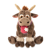 """disney store christmas holiday 14"""" frozen sven plush new with tags"""