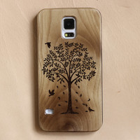Wood Galaxy S5 Case,Tree of life, wood S5 case, wood Samsung Galaxy S4 Case, wood Samsung S6 Case,retro Wood Samsung S3  case