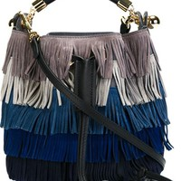 Chloé 'gala' Fringed Shoulder Bag - O' - Farfetch.com