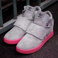 Adidas Tubular invader 750 Gray Men Women Snekaer BB8393