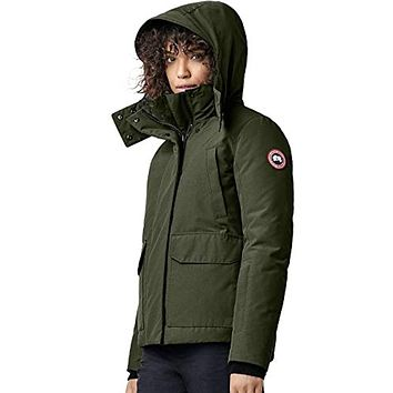 Canada Goose Blakely Water Resistant Down Parka Military Green