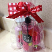 Bath & Body Works Mad About You Gift Set - All New Daily Trio (Full-Sizes)