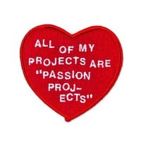 Passion Projects Patch