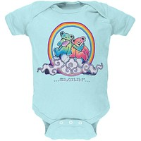 Grateful Dead - Smilin Cloud Bears Light Blue Baby One Piece