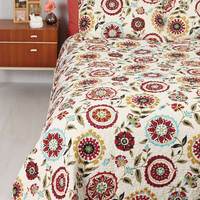 Folk Art Swell Rested Quilt Set in Full, Queen by ModCloth