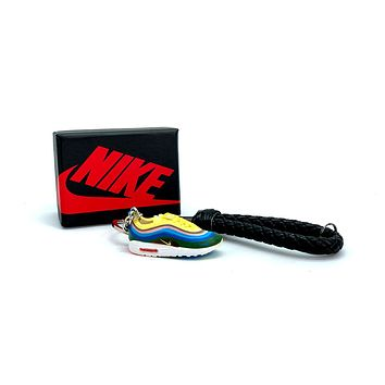 3D Sneaker Keychain- Nike Air Max 1/97 Sean Wotherspoon
