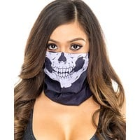 Skull Single Layer Face Mask