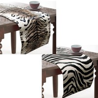 Africa Moulded PVC Table Runner 33 x 150 cm by Rapee
