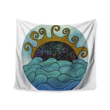 """Pom Graphic Design """"Oceania"""" Wall Tapestry"""