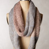 Sequin Colorblock Infinity Scarf by Anthropologie