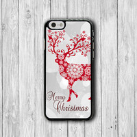 Christmas Gift Reindeer Phone Cases Merry Christmas Phone Case Crystal Snow iPhone 6 / 6S Cases iPhone 5 / 5S Cover iPhone 5C Electronics