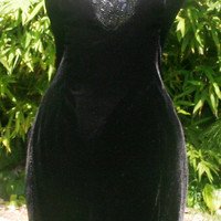 Beaded Black, Sexy PROM Dress