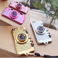 3D Photo Camera Phone Case for Iphone