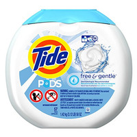 Tide PODS Free & Gentle HE Turbo Laundry Detergent Pacs 57-load Tub