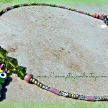 Princess and the FROG Necklace, Children's Necklace, Direct Checkout