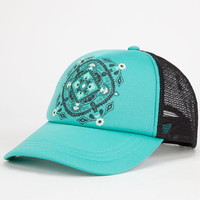 O'neill Rambling Womens Trucker Hat Blue Combo One Size For Women 25968724901