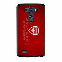 Arsenal FC You Cant Buy Class Be Faithful Forever LG G3 Case