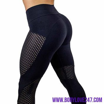 2018 New Quick-drying Yarn  Fashion Ankle-Length Legging