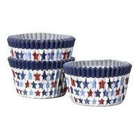 Set of 50 4th of July Mini Cupcake Papers   Crate&Barrel