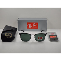 mieniwe? Cheap RAY-BAN SUNGLASSES CLUBMASTER RB3538 186/71 BLACK/GREEN CLASSIC LENS 53MM outlet