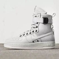 PEAP Nike Air Force 1 AF1 High Tops White For Women Men Running Sport Casual Shoes Sneakers