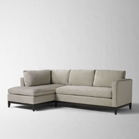 Blake Down-Filled 2-Piece Chaise Sectional